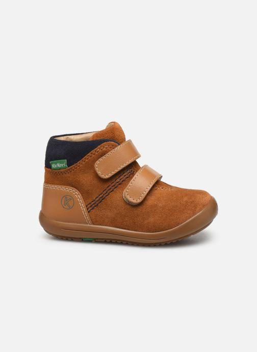 Boots en enkellaarsjes Kickers Kira Geel achterkant