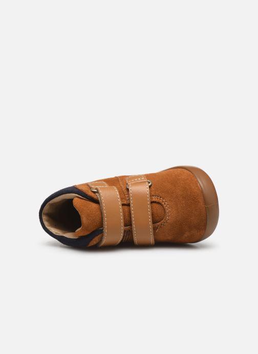 Bottines et boots Kickers Kira Jaune vue gauche