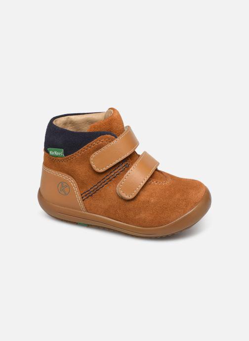 Boots en enkellaarsjes Kickers Kira Geel detail