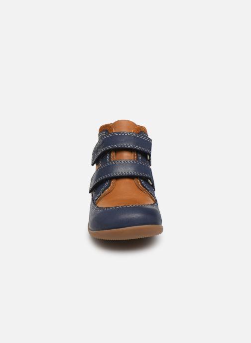 Bottines et boots Kickers Bins Bleu vue portées chaussures