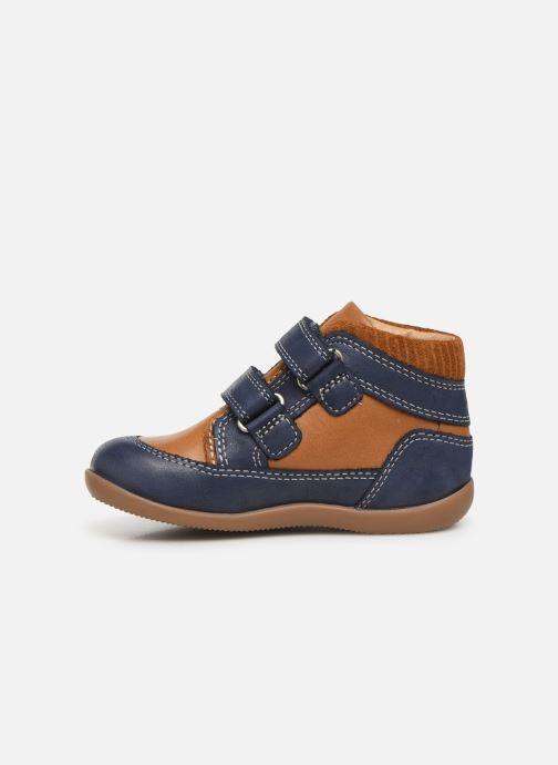 Boots en enkellaarsjes Kickers Bins Blauw voorkant