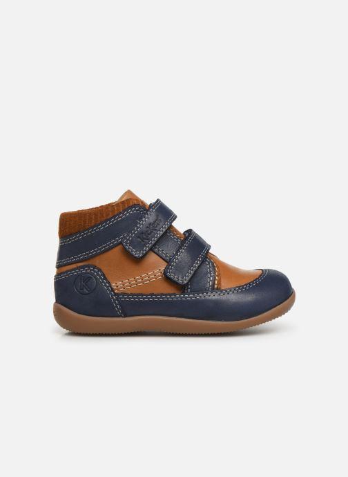 Bottines et boots Kickers Bins Bleu vue derrière