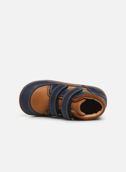 Boots en enkellaarsjes Kickers Bins Blauw links