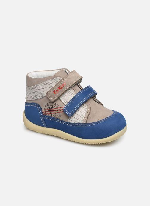 Ankelstøvler Kickers Bins Grå detaljeret billede af skoene