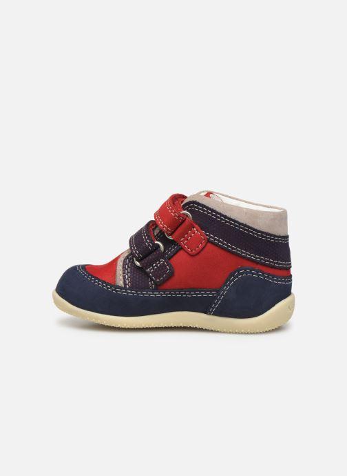 Boots en enkellaarsjes Kickers Bins Rood voorkant