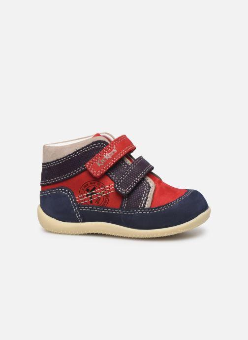 Boots en enkellaarsjes Kickers Bins Rood achterkant