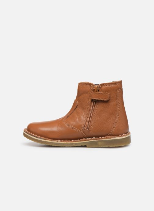 Boots en enkellaarsjes Kickers Maelio Bruin voorkant