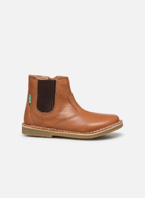 Boots en enkellaarsjes Kickers Maelio Bruin achterkant