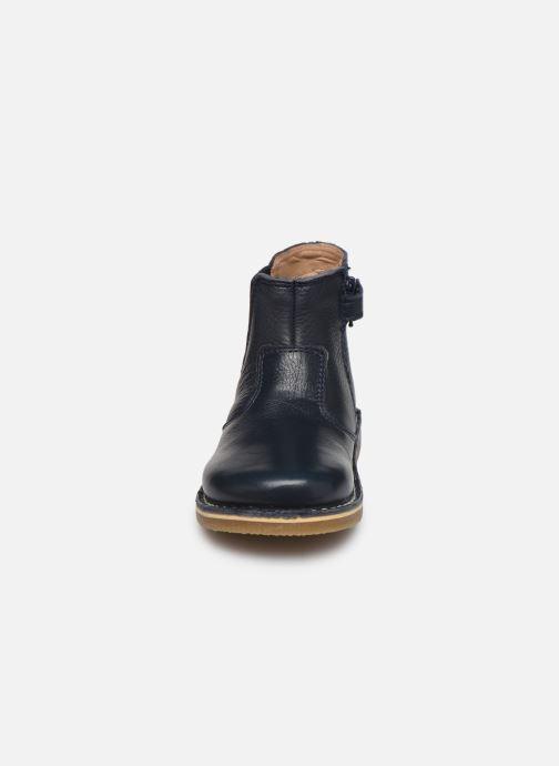 Stiefeletten & Boots Kickers Maelio blau schuhe getragen
