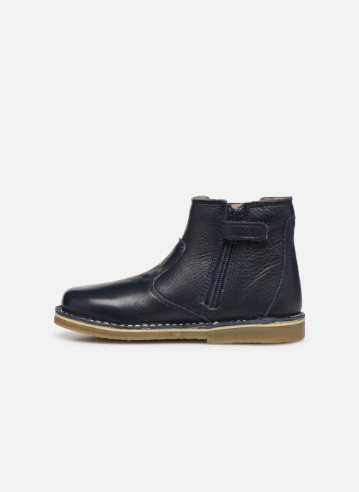 Stiefeletten & Boots Kickers Maelio blau ansicht von vorne