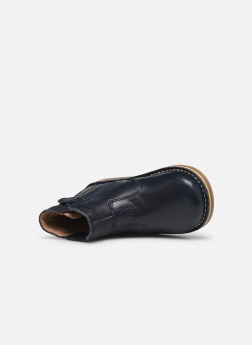 Stiefeletten & Boots Kickers Maelio blau ansicht von links