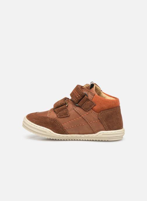 Sneakers Kickers Jawa Bruin voorkant
