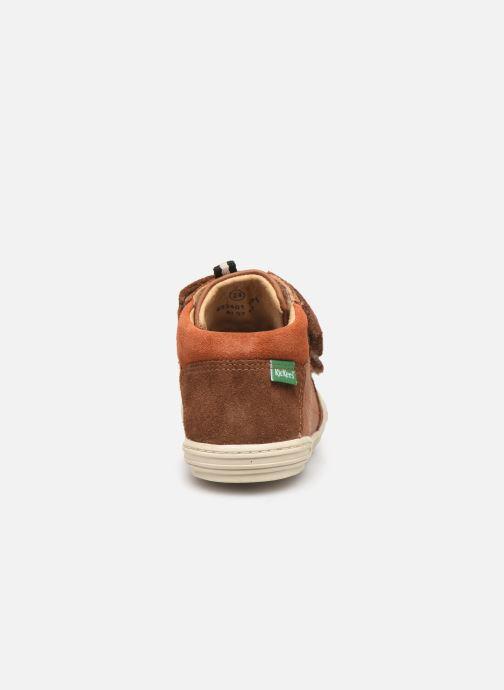 Sneakers Kickers Jawa Bruin rechts