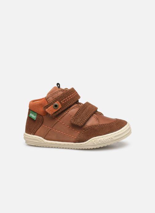 Sneakers Kickers Jawa Bruin achterkant
