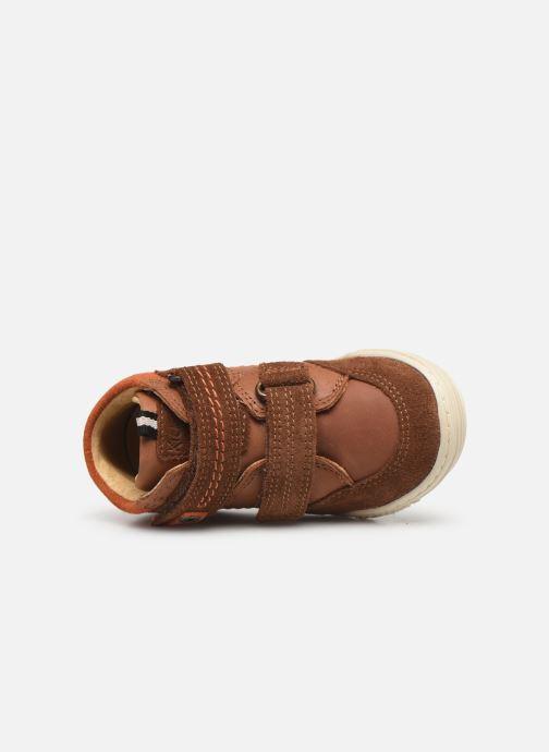 Sneakers Kickers Jawa Bruin links