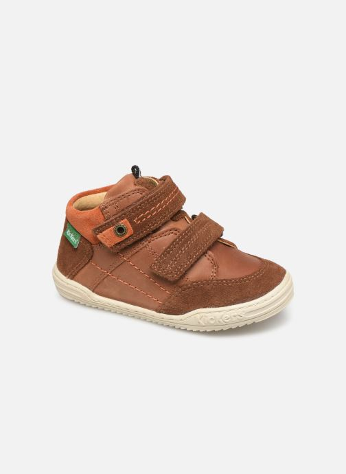 Sneakers Kickers Jawa Bruin detail
