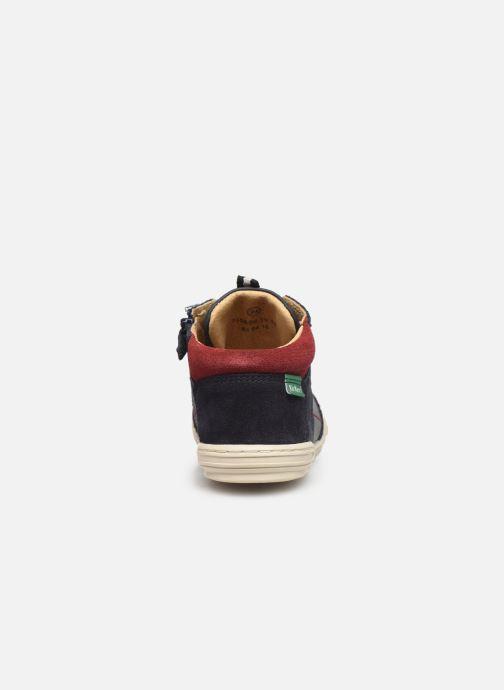 Sneakers Kickers Jad Blauw rechts