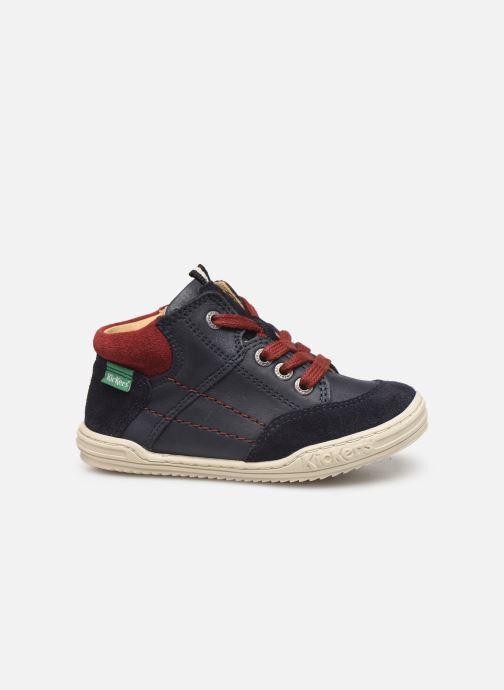 Sneakers Kickers Jad Blauw achterkant