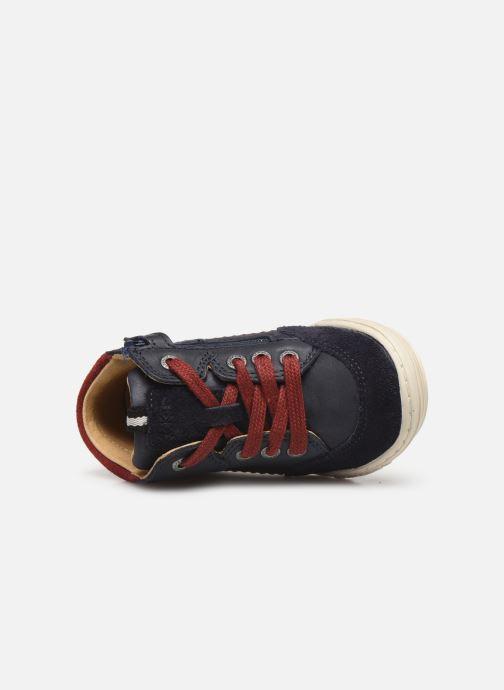 Sneakers Kickers Jad Blauw links