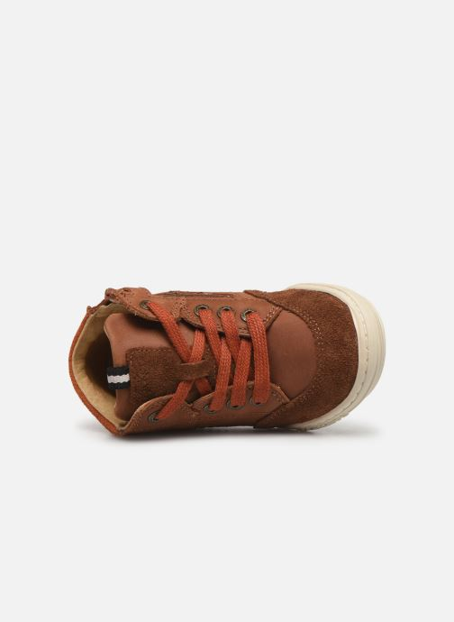 Baskets Kickers Jad Marron vue gauche