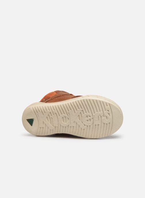 Sneakers Kickers Jad Bruin boven