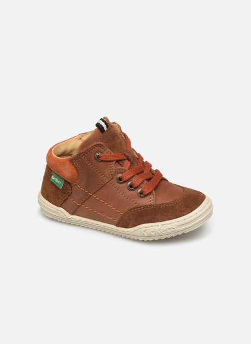 Sneakers Kickers Jad Bruin detail