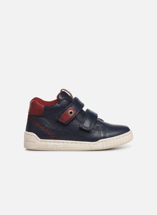 Sneakers Kickers Wip Blauw achterkant