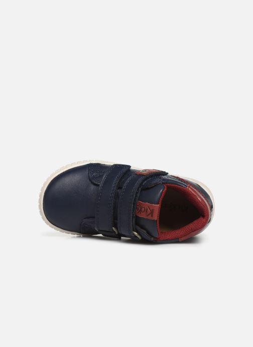 Sneakers Kickers Wip Blauw links
