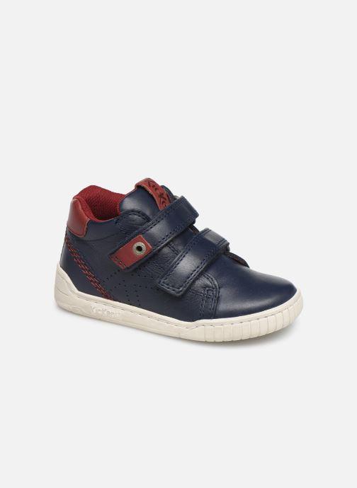 Sneakers Kickers Wip Blauw detail