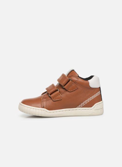 Sneakers Kickers Wip Bruin voorkant