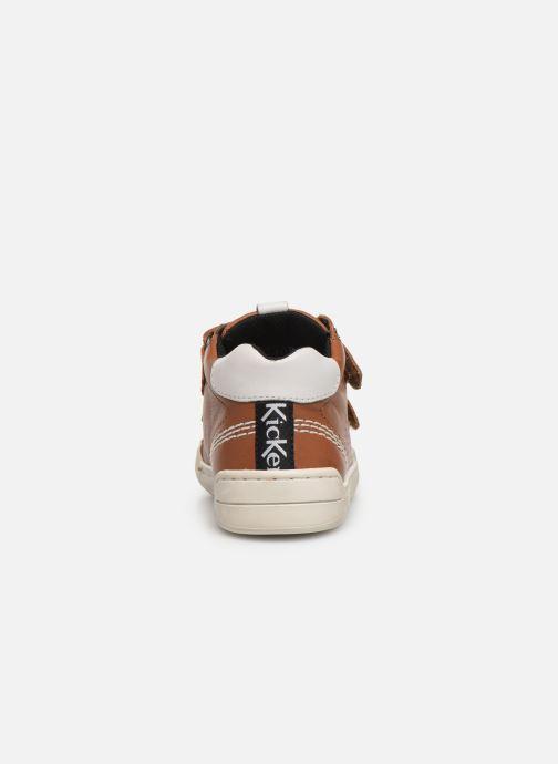 Sneakers Kickers Wip Bruin rechts