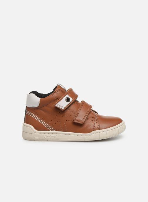 Sneakers Kickers Wip Bruin achterkant