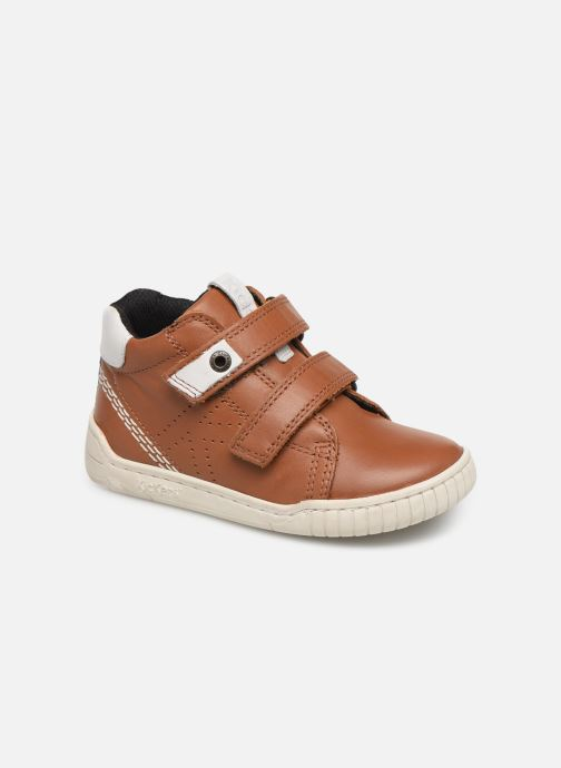 Baskets Kickers Wip Marron vue détail/paire