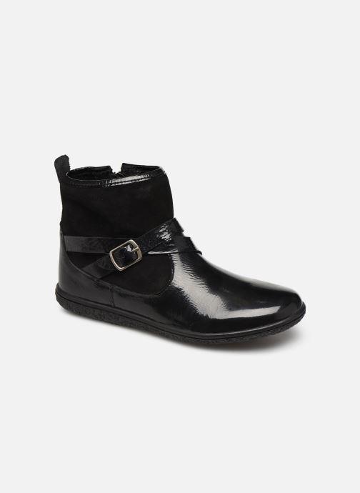 Bottines et boots Kickers Viktor Noir vue détail/paire
