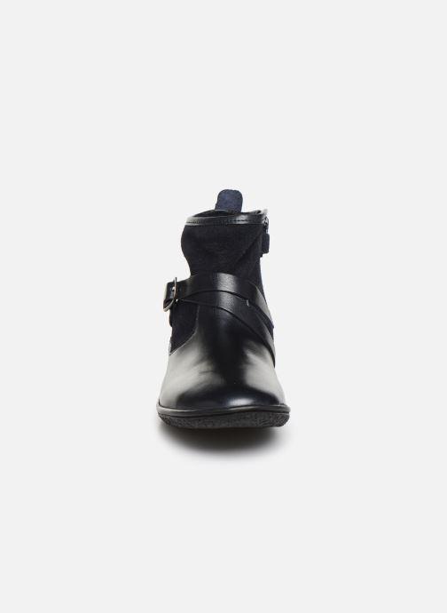 Bottines et boots Kickers Viktor Bleu vue portées chaussures