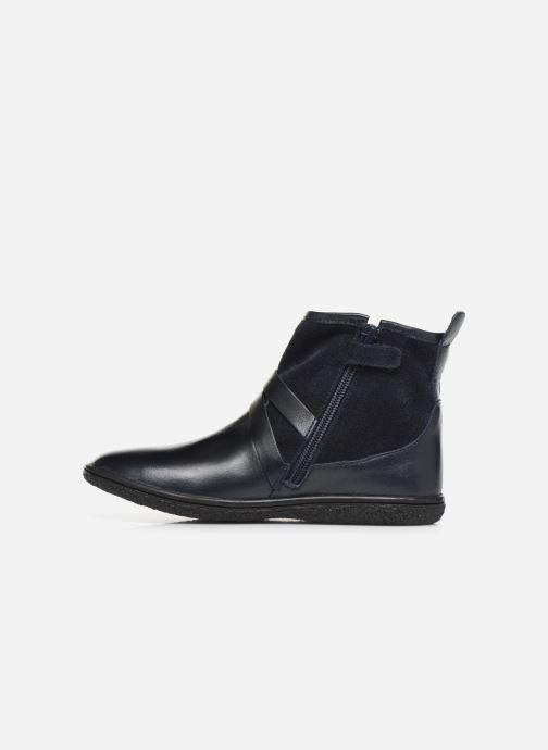 Bottines et boots Kickers Viktor Bleu vue face