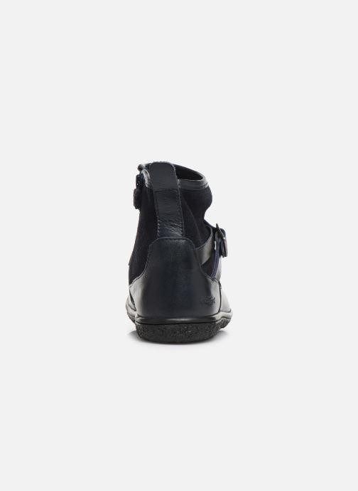 Bottines et boots Kickers Viktor Bleu vue droite