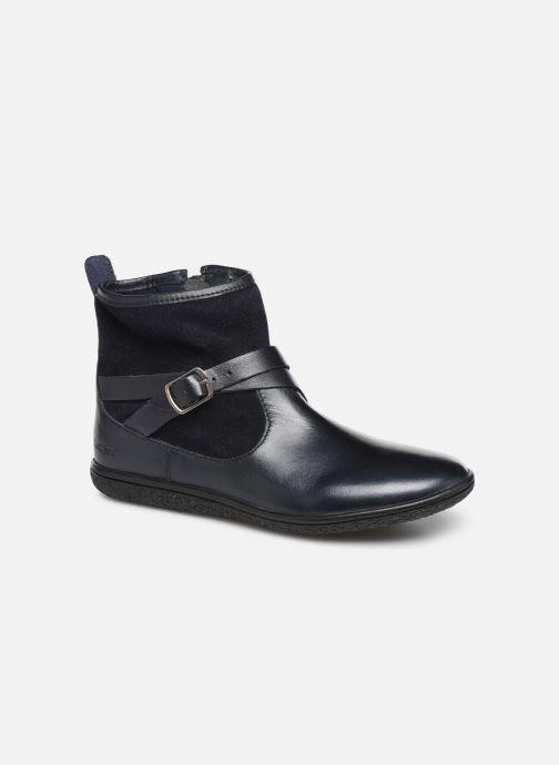 Bottines et boots Kickers Viktor Bleu vue détail/paire