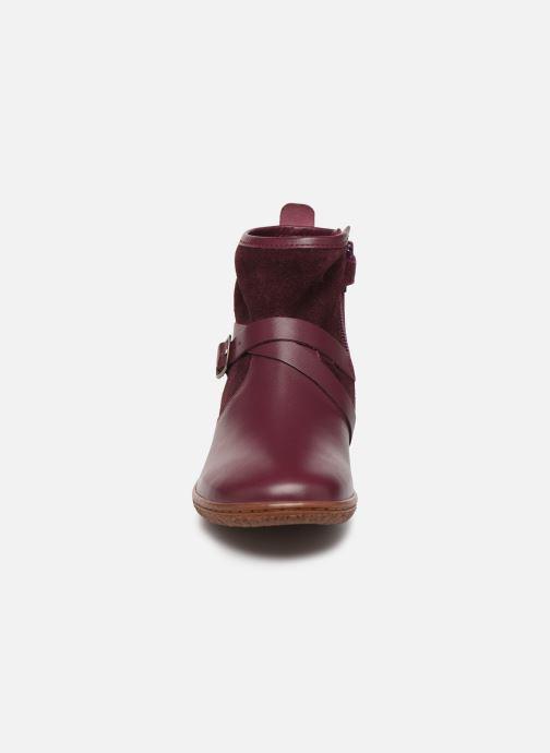 Bottines et boots Kickers Viktor Violet vue portées chaussures