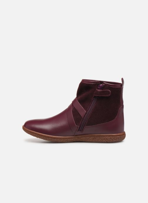 Bottines et boots Kickers Viktor Violet vue face