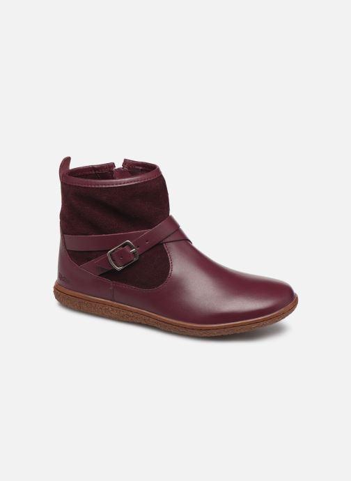 Bottines et boots Kickers Viktor Violet vue détail/paire