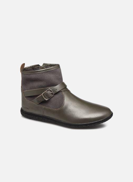 Bottines et boots Kickers Viktor Argent vue détail/paire