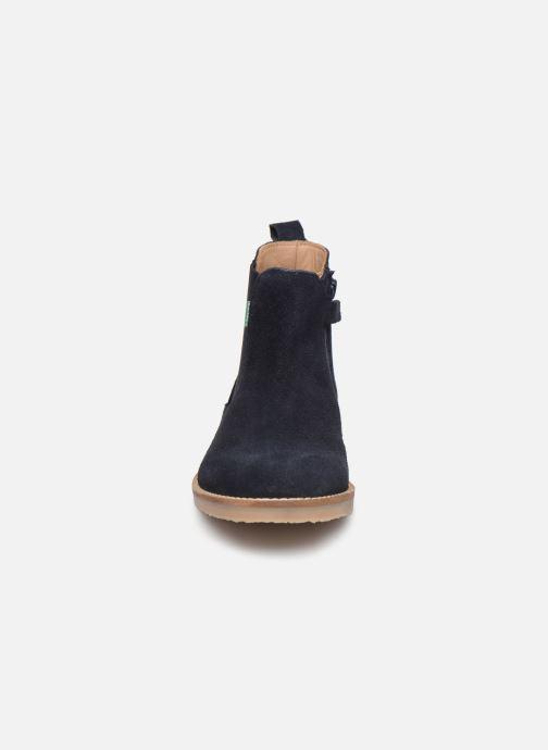 Bottines et boots Kickers Tyla Bleu vue portées chaussures