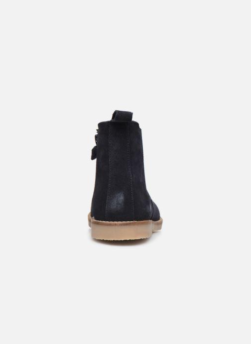 Bottines et boots Kickers Tyla Bleu vue droite