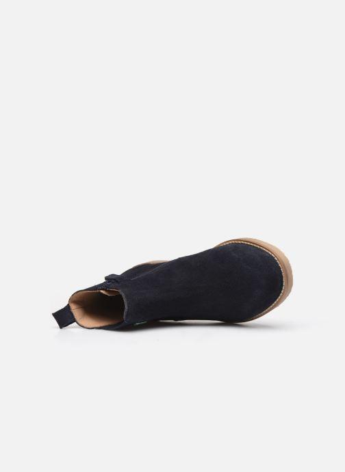 Bottines et boots Kickers Tyla Bleu vue gauche