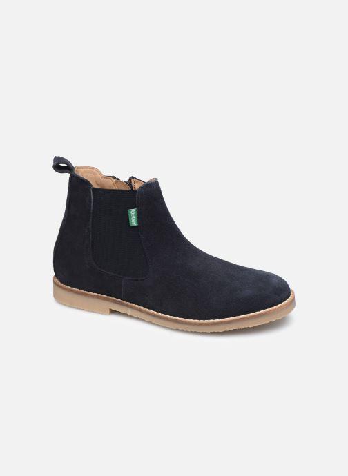 Bottines et boots Kickers Tyla Bleu vue détail/paire
