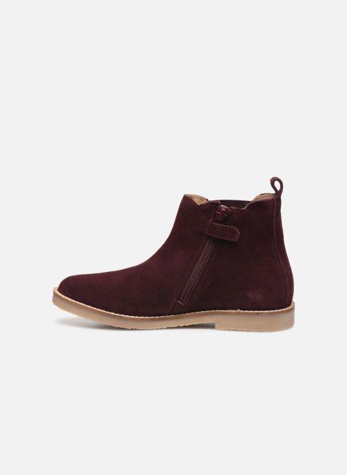 Boots en enkellaarsjes Kickers Tyla Paars voorkant