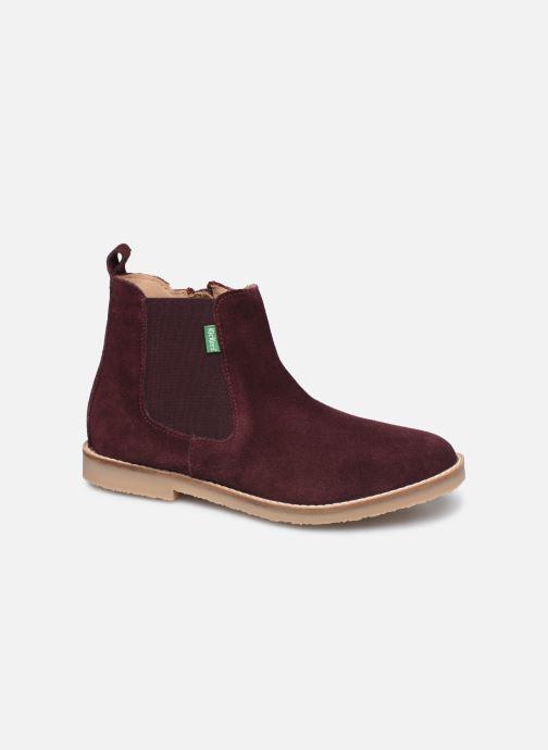 Bottines et boots Kickers Tyla Violet vue détail/paire