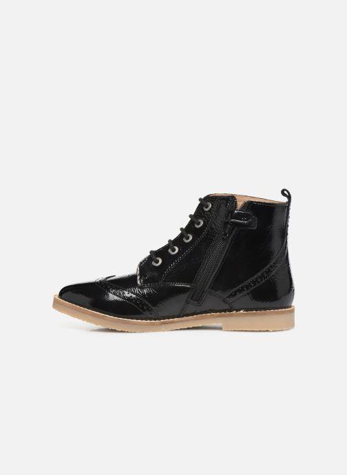 Boots en enkellaarsjes Kickers Tyrol Zwart voorkant
