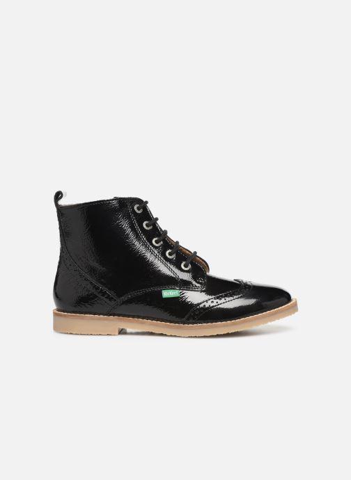 Boots en enkellaarsjes Kickers Tyrol Zwart achterkant